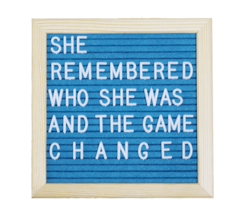 Say It Loud Letter Board - Izzy & Liv - notebook