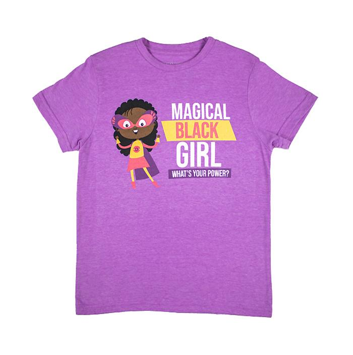 Izzy and Liv - Magical Black Girl Superpower T-Shirt