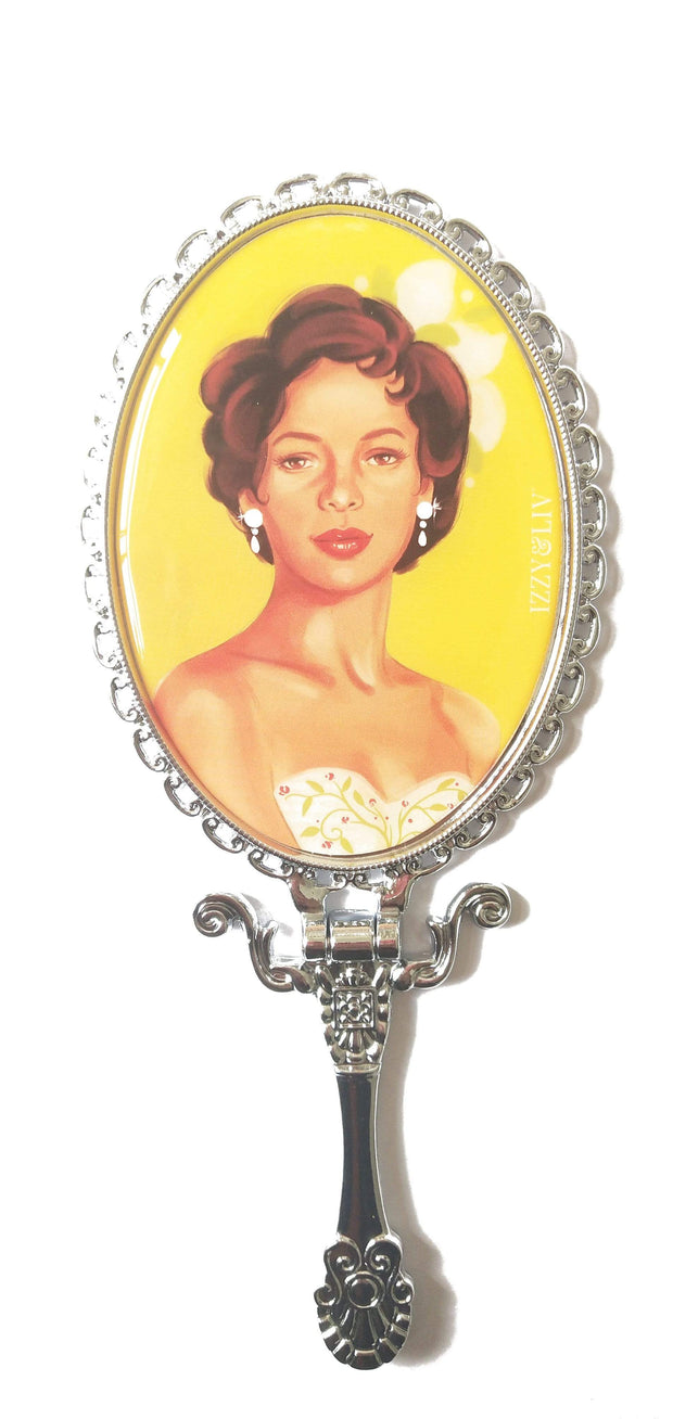 Classically Glam Handheld Mirror