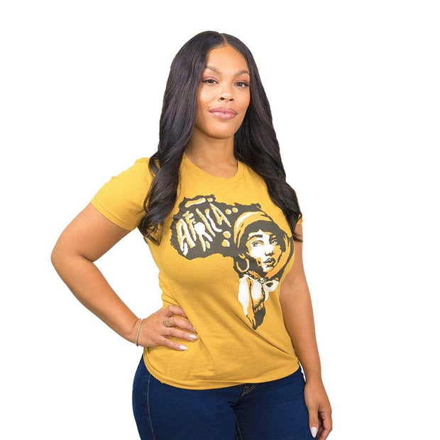 Mother Africa T-Shirt - Izzy & Liv - graphic tee