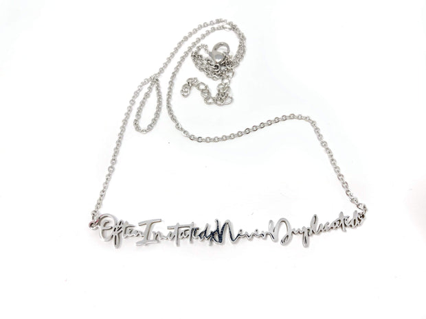 """Often Imitated Never Duplicated"" Necklace - Izzy & Liv - necklace"