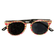 Pink/Yellow Ankara Print Sunglasses