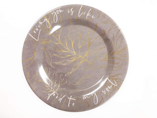 Decorative Dessert Plates (Set of Two)