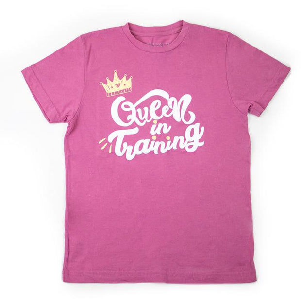 Queen In Training Girls T-Shirt
