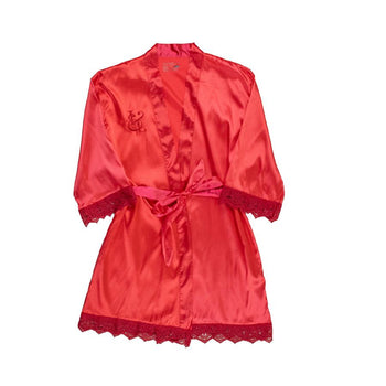 Relaxin' and Maxin' Satin Robe (4 Colors)