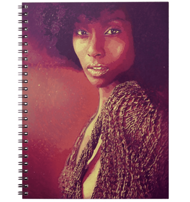 Melanin Glow Notebook