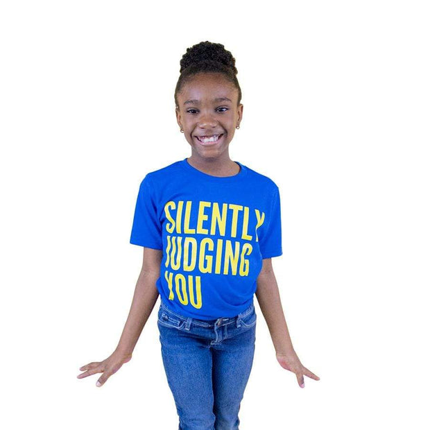 Silently Judging You Youth Tee - Izzy & Liv - kid tee