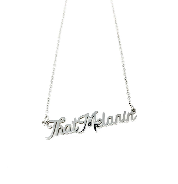 """That Melanin"" Necklace - Izzy & Liv - necklace"
