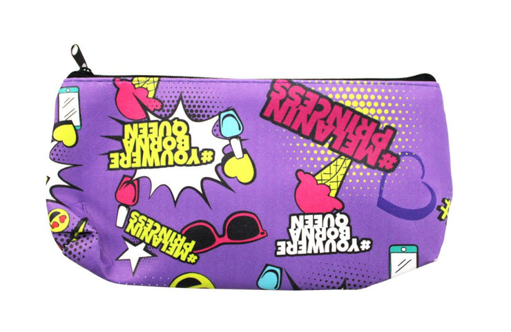 Melanin Princess Pencil or Cosmetic Pouch