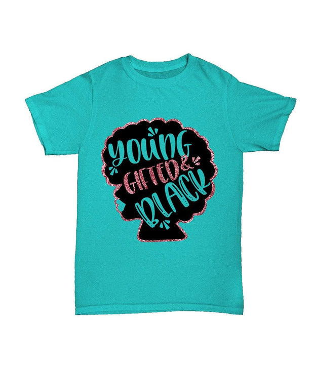 Young Gifted & Black Girls Tee - Izzy & Liv - kid tee