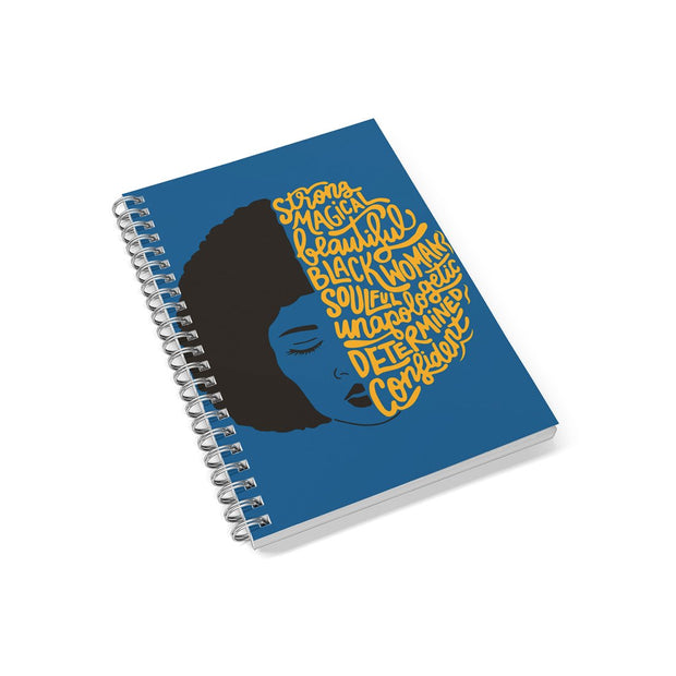 Afro Affirmations Notebook