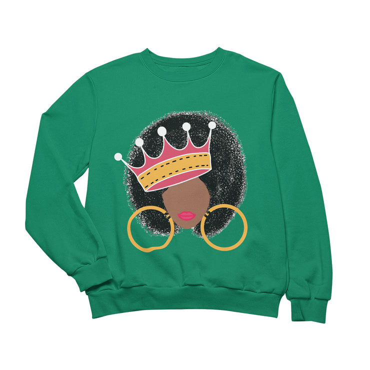 Afro Queen Sweatshirt
