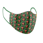Afro Queen Facial Covering w/Adjustable Straps (Adults)