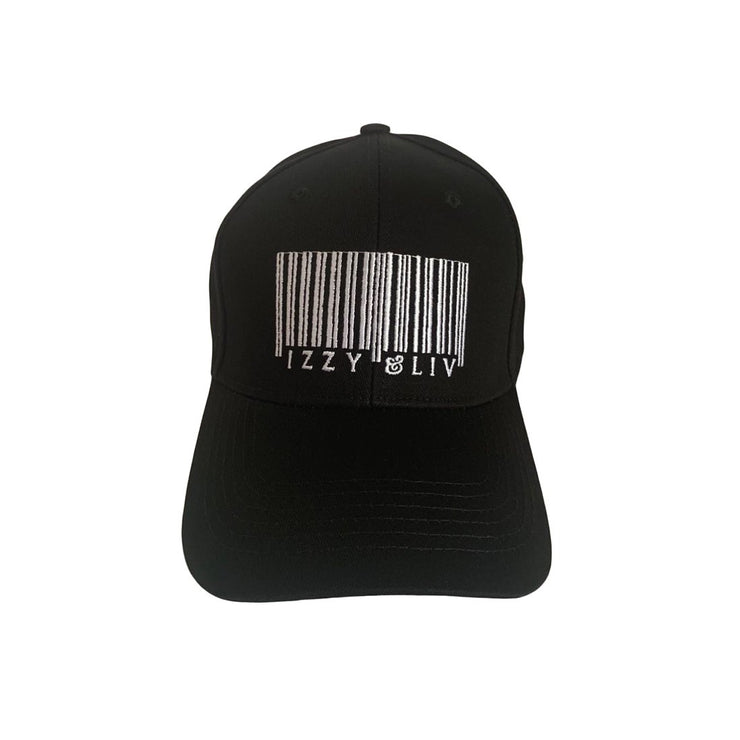 Izzy & Liv Barcode Satin-Lined Hat