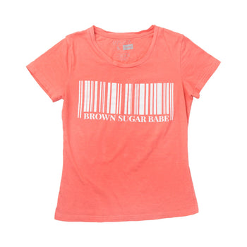 Brown Sugar Babe Barcode Tee Shirt