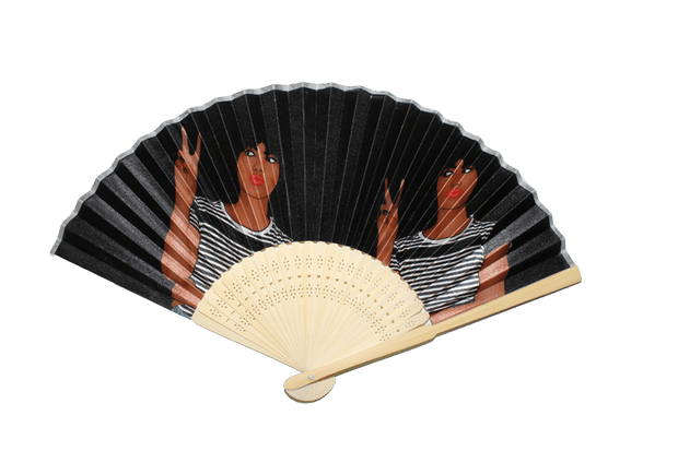 Peace Bamboo Hand Fan - Izzy & Liv - Accessories