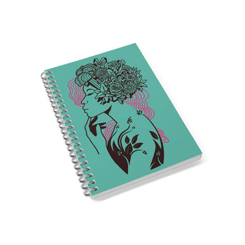 Bloomin' Queen Notebook