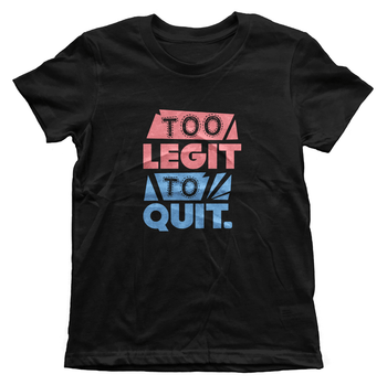 Too Legit Boys Tee - Izzy & Liv - kid tee