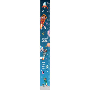 Up Like a Rocket Growth Chart Decal