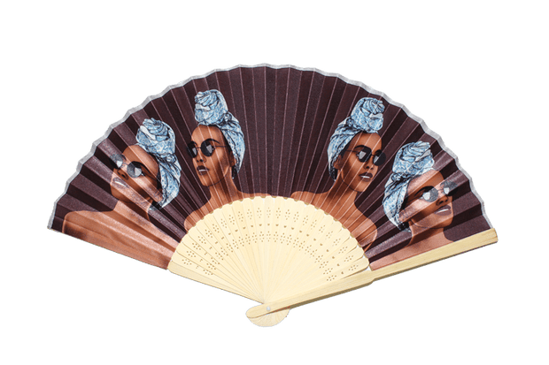 The Shade Is Real Bamboo Hand Fan - Izzy & Liv - Accessories