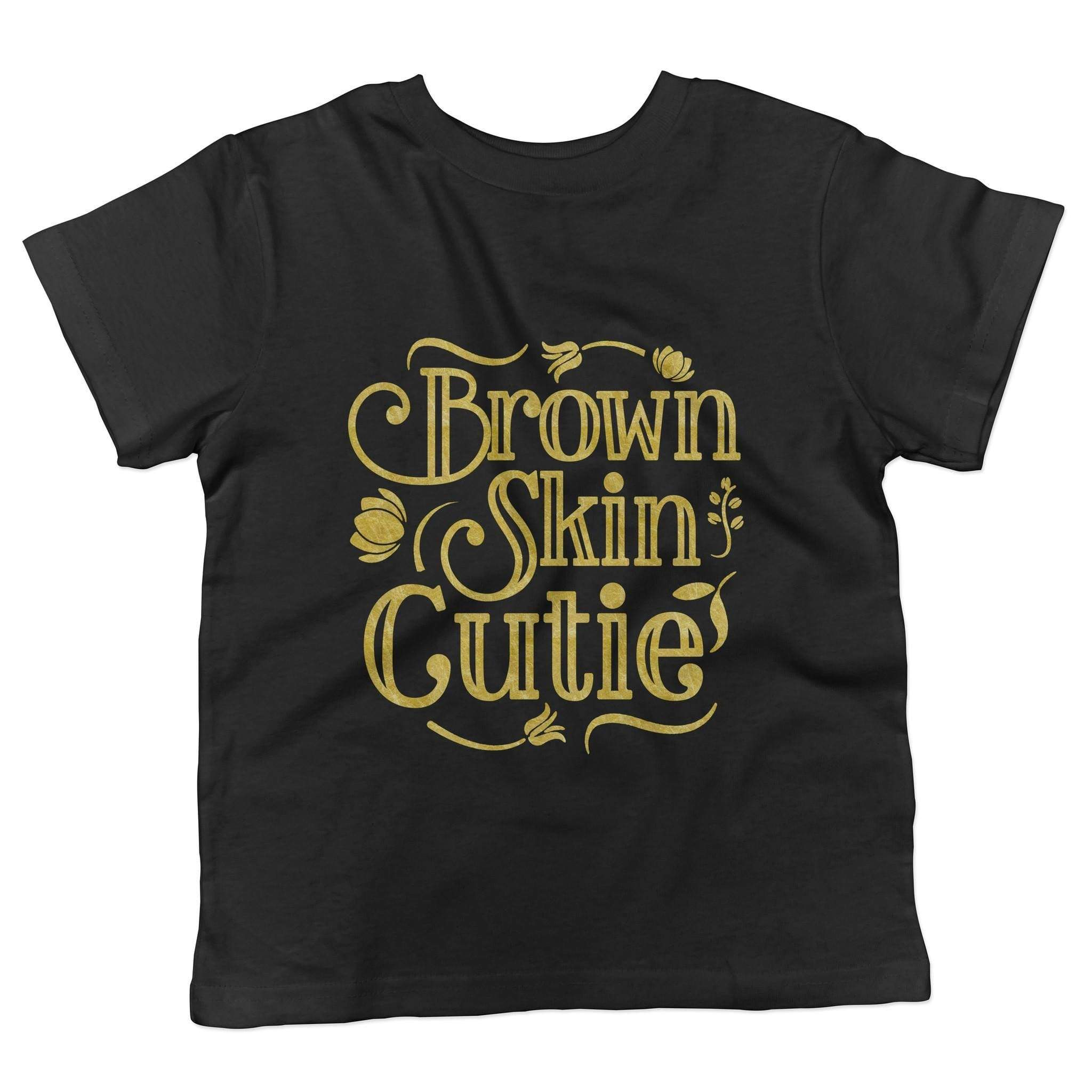 Brown Skin Cutie Youth Tee - Izzy & Liv - kid tee