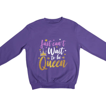 Can't Wait Queen Youth Sweatshirt