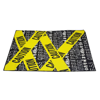 Caution Queen Gym Towel