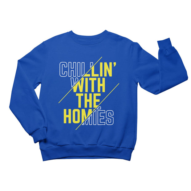 Chillin' With The Homies Youth Sweatshirt