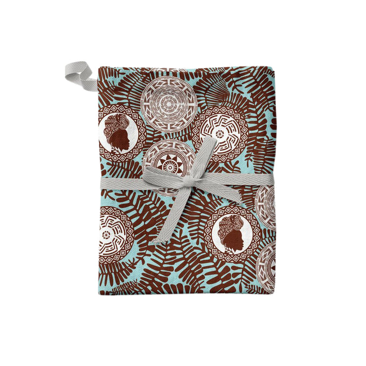 Chocolate Beauty Kitchen Towel or Placemat