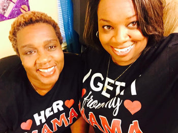 I Get It From My Mama / Her Mama - Mommy & Me T-Shirt (add seperately) - Izzy & Liv - couples graphic tees
