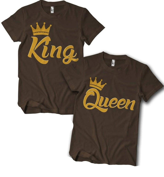 King And Or Queen Couples T Shirt Izzy Amp Liv