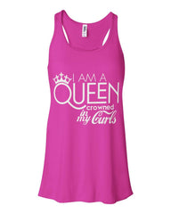 Queen Crowned By My Curls Tank Top - Izzy & Liv - 3