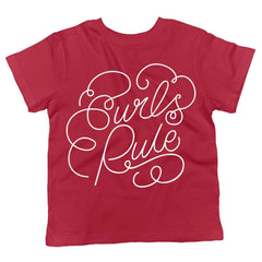 Curls Rule Youth Tee