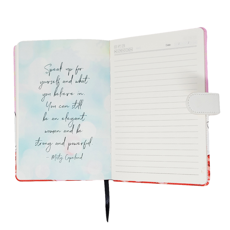 Curled Up Girl Diary/Journal