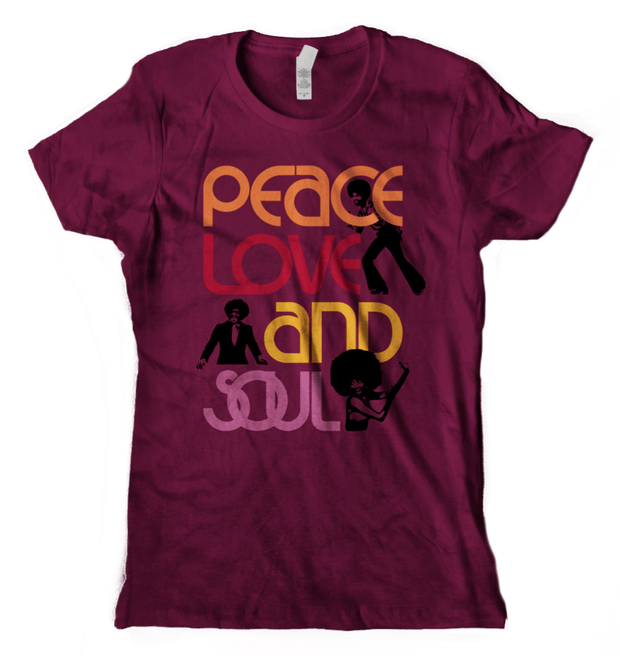 Peace, Love & Soul T-Shirt