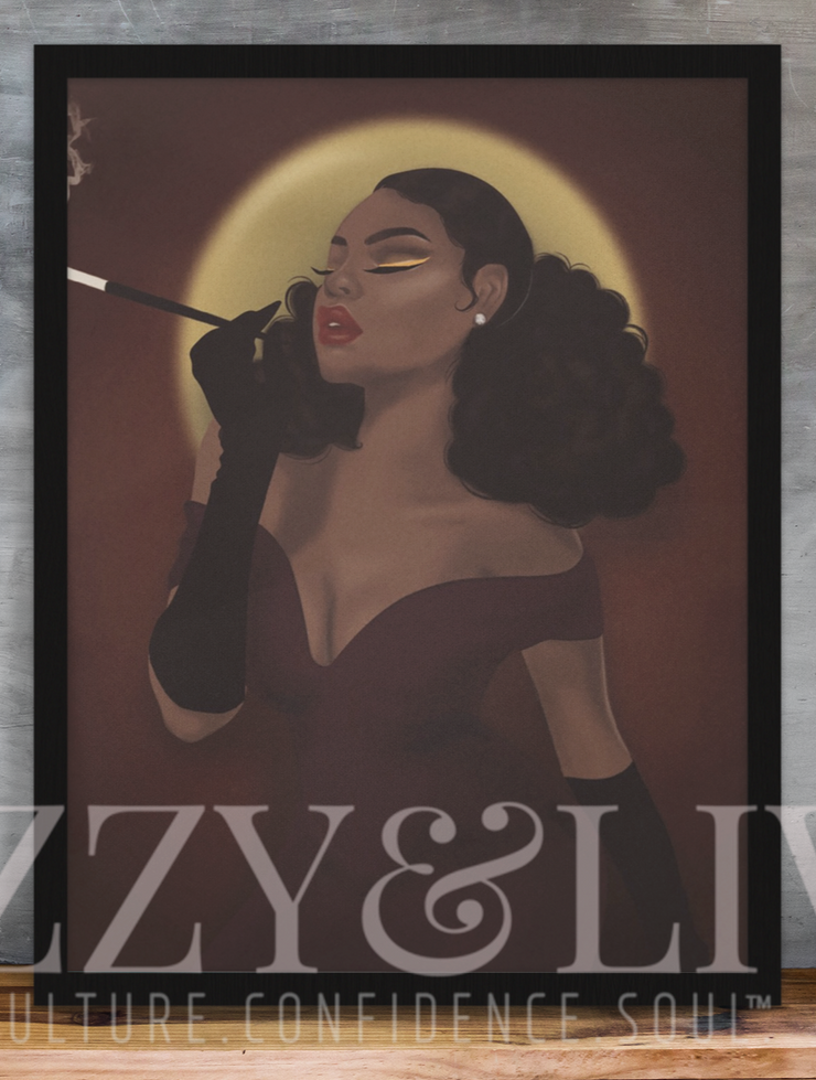 Iconically Glam Printable Art