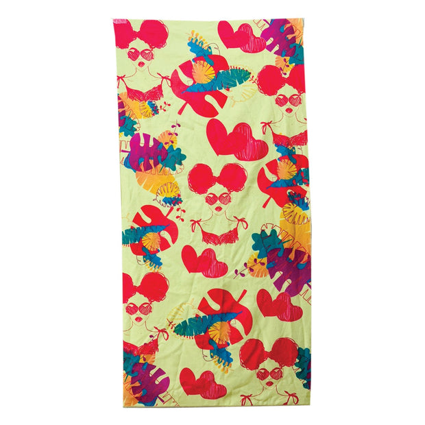 Fly Girl Summer Beach Towel