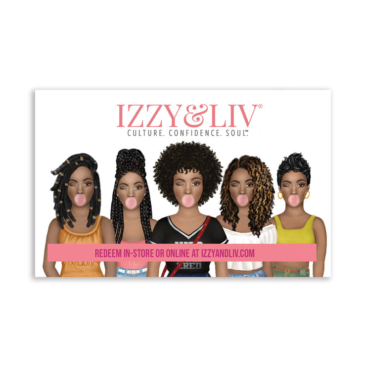 Izzy & Liv Brown Sugar Gift Cards
