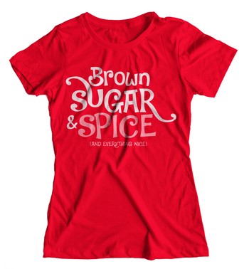 Brown Sugar & Spice Girls Tee - Izzy & Liv - kid tee