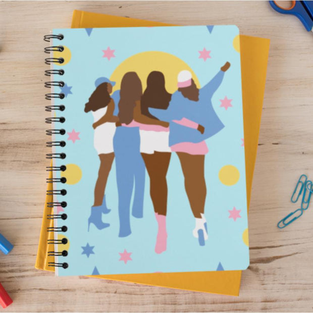 Girl Squad Notebook