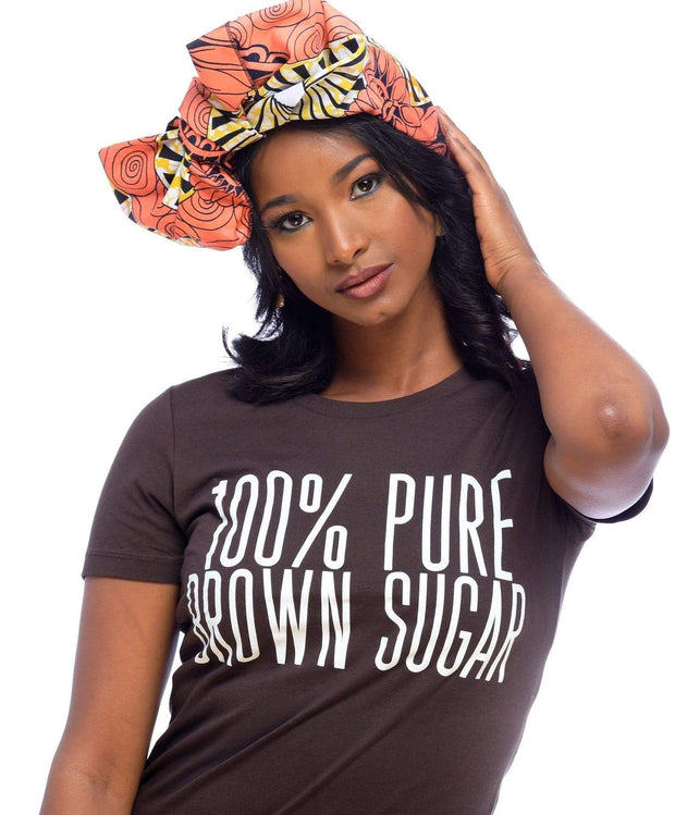 Graphic Tee - 100% Pure Brown Sugar T-Shirt