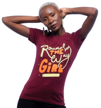 Graphic Tee - Around The Way Girl T-Shirt