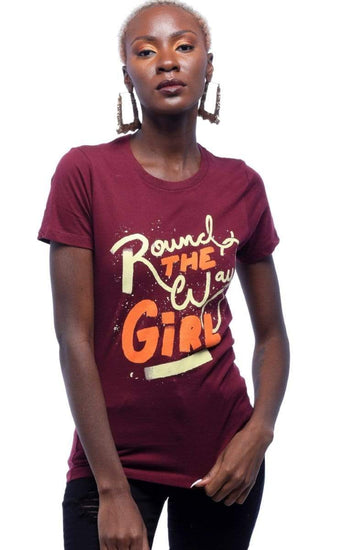 Around The Way Girl T-Shirt - Izzy & Liv - graphic tee