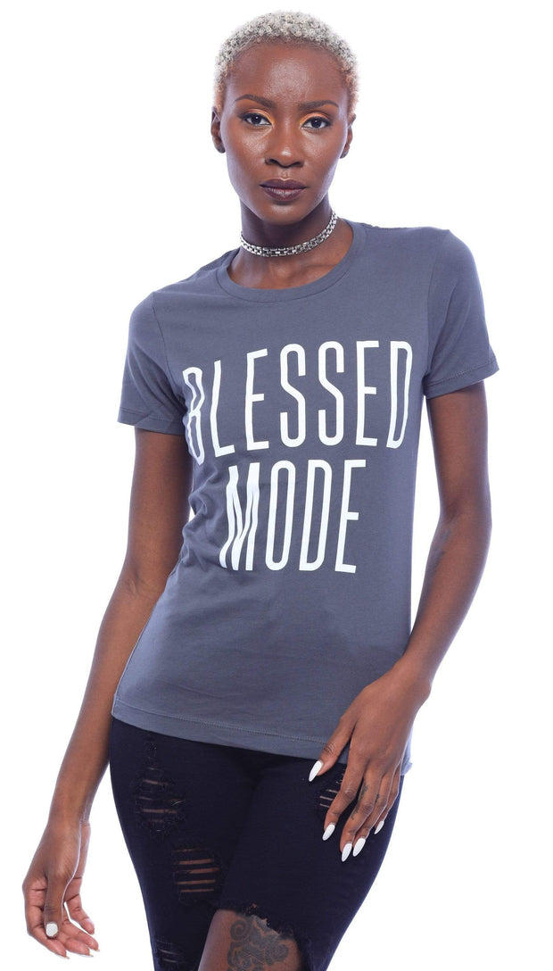 Blessed Mode T-Shirt - Izzy & Liv - graphic tee