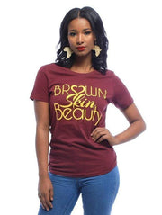Graphic Tee - Brown Skin Beauty