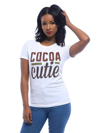 Cocoa Cutie T-Shirt - Izzy & Liv - graphic tee