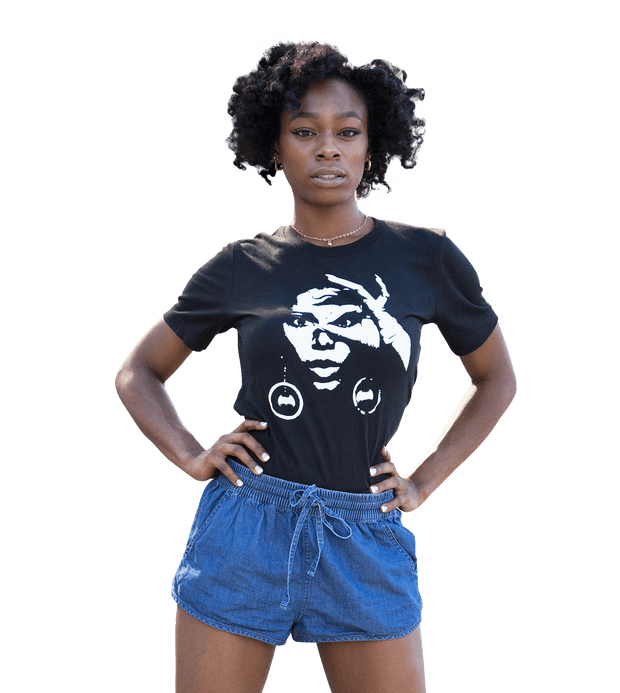 Graphic Tee - Donyale Model T-Shirt