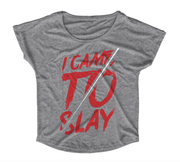 Graphic Tee - I Came To Slay T-Shirt