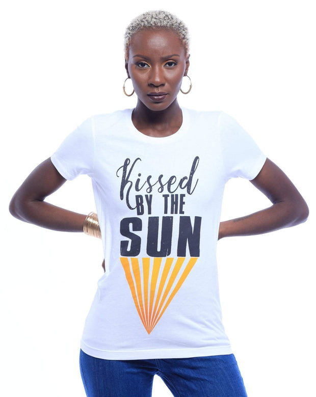 Kissed By The Sun T-Shirt - Izzy & Liv - graphic tee
