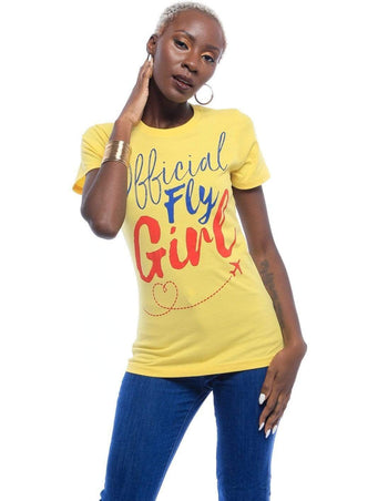 Graphic Tee - Official Fly Girl T-Shirt